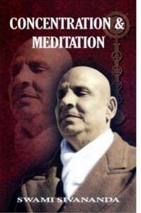 Concentration and Meditation Sivananda 199x300